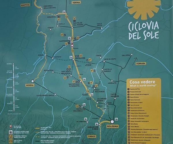 Ciclovia del Sole: conclusi i lavori a Sala e ricerca di operatori economici per bike sharing