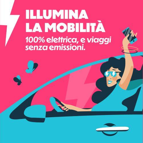 Da Bologna a Rimini arriva Corrente, il car sharing elettrico