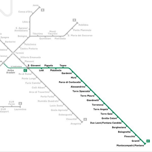 Metro C a Roma: lavori fermi a 10 anni fa