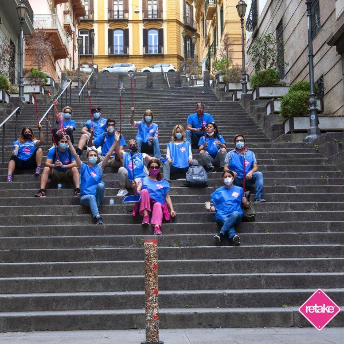 #Cambiagesto: la campagna contro i mozziconi di sigaretta parte da Napoli