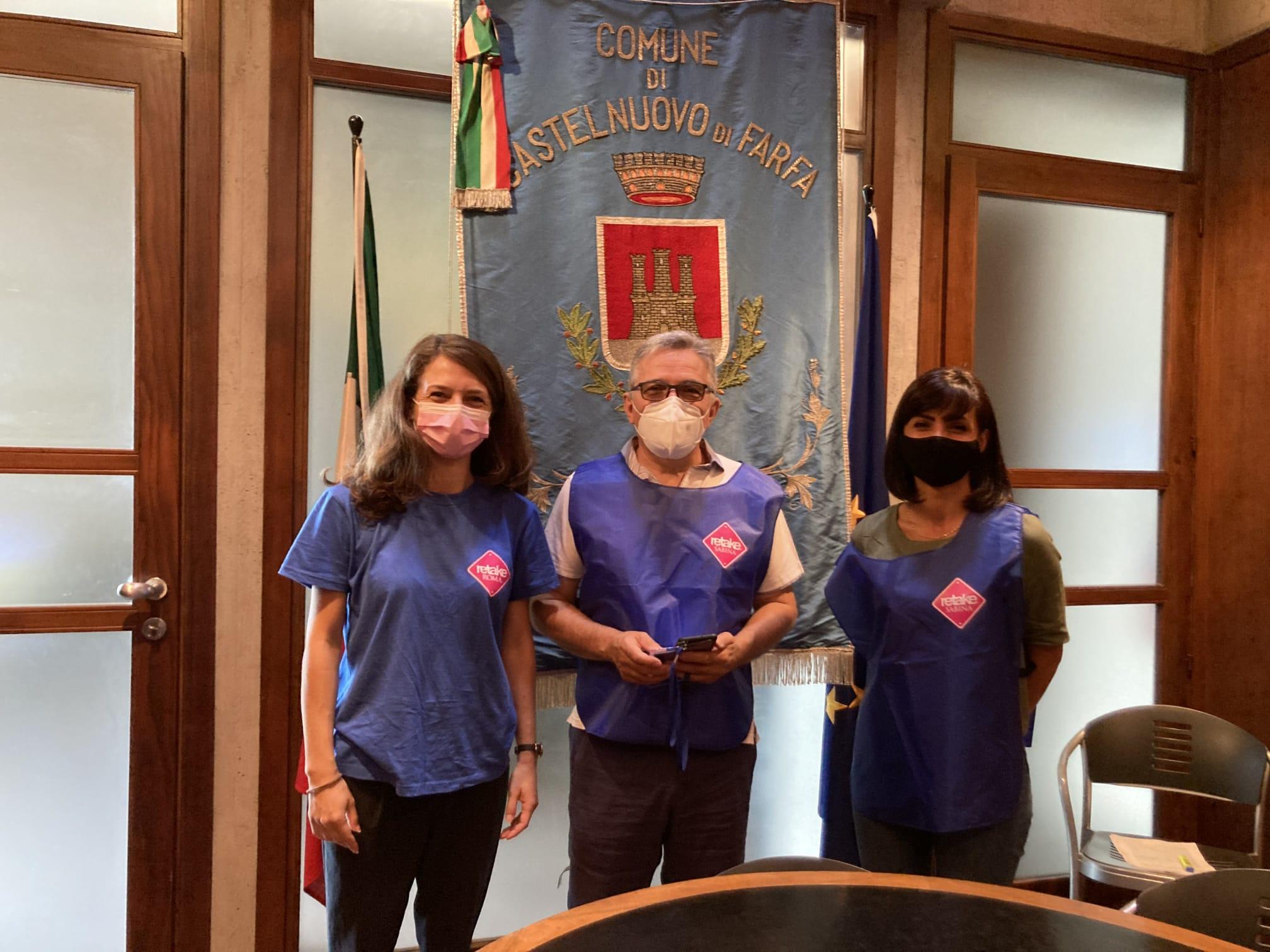 Castelnuovo di Farfa e Retake Roma: accordo per valorizzare i beni comuni