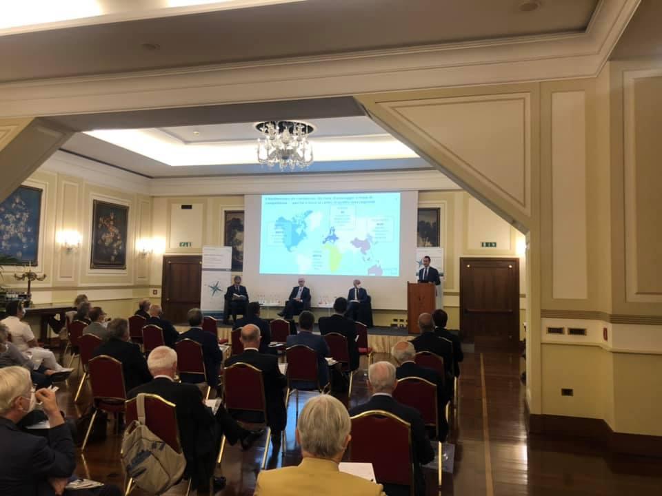 """Presentato a Napoli il Rapporto Annuale """"Italian Maritime Economy"""" di SRM"""