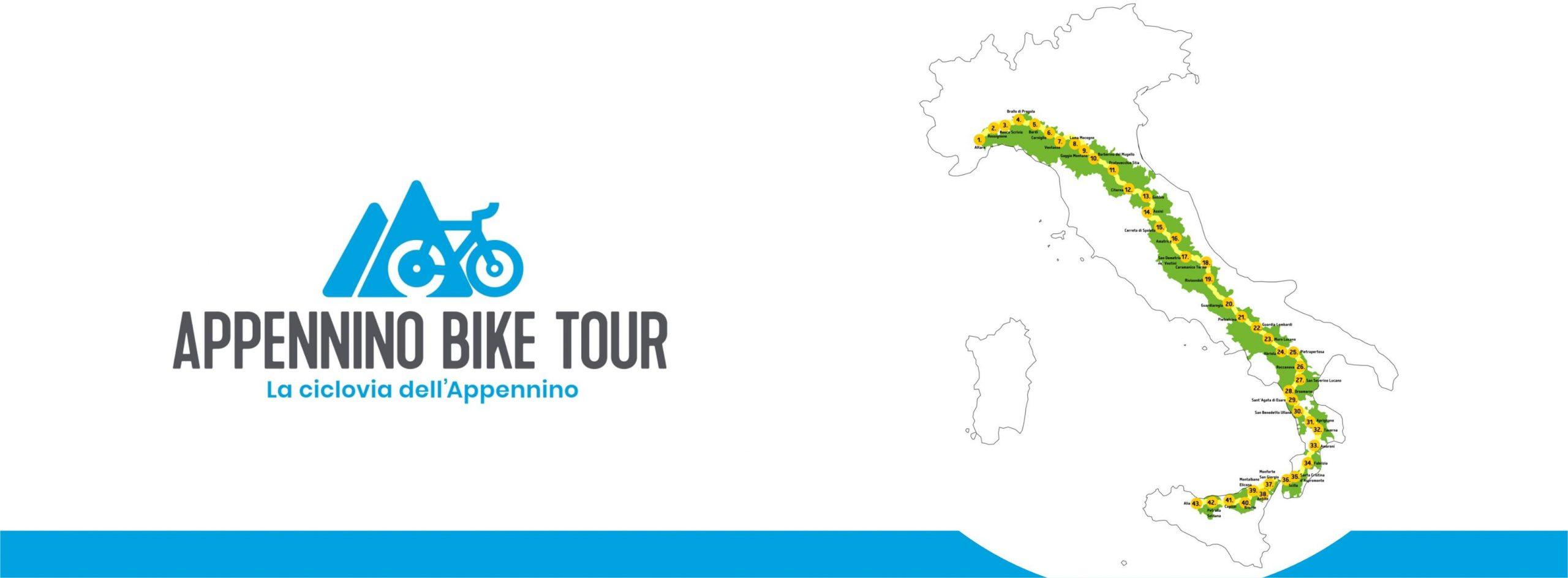 Presentato Appennino Bike Tour 2021, la ciclovia più lunga d'Italia