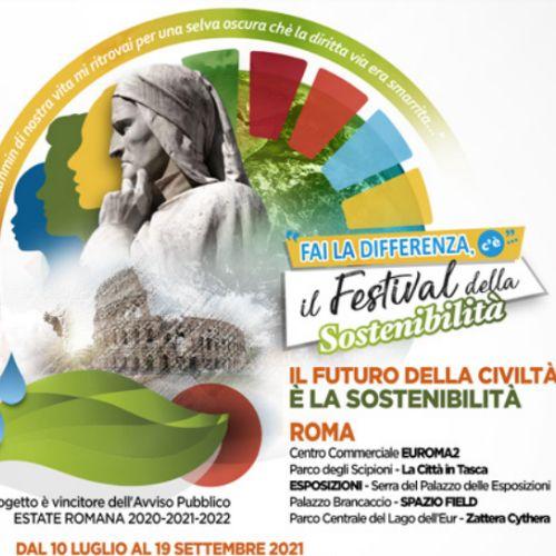 A Roma torna Fai la Differenza, il Festival della sostenibilità dal 10 luglio al 19 settembre