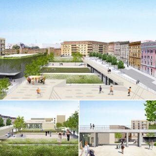 Restyling area via dei Lucani: in arrivo bike parking e spazi verdi