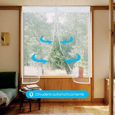 Zanzariera magnetica per finestre: l'offerta lampo su Amazon