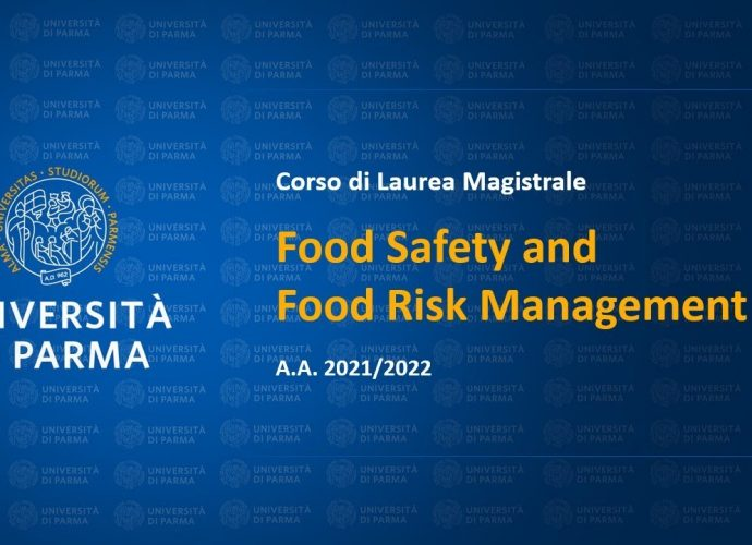Food Safety and Food Risk Management: primi laureati a Parma