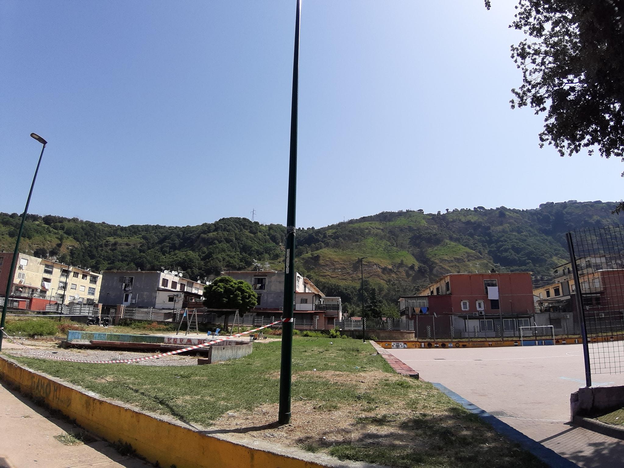 Parco Camaldoli Sud: al via la riqualificazione delle aree verdi