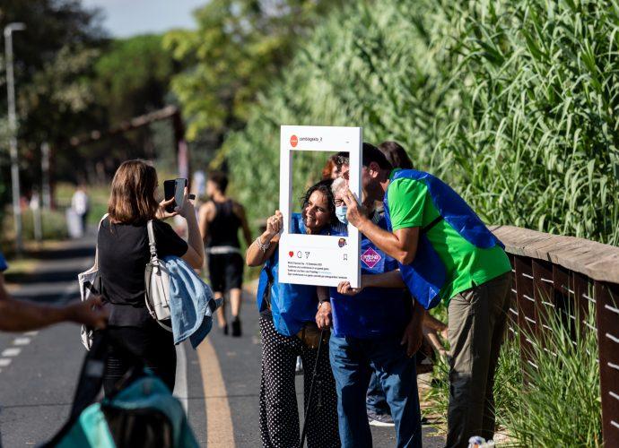 A Roma la campagna di sensibilizzazione #Cambiagesto