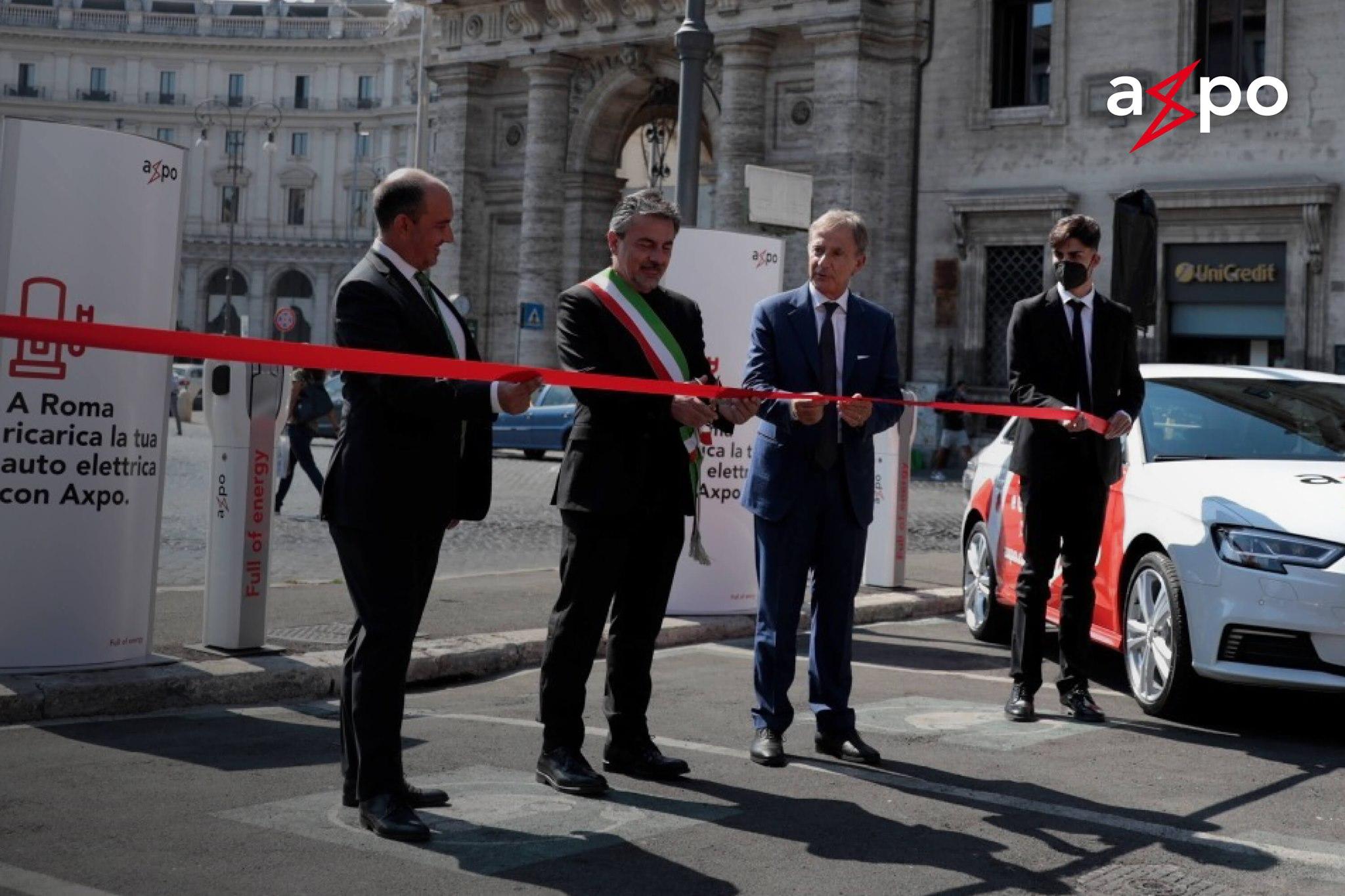 A Roma arrivano le prime stazioni pubbliche di ricarica elettrica