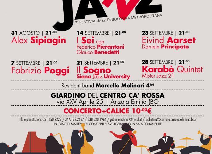 Janz in the Park, il festival jazz ad Anzola dell'Emilia