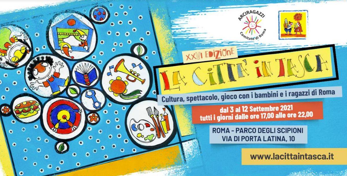 La città in tasca: dal 3 settembre a Roma il festival pensato per bambini e ragazzi