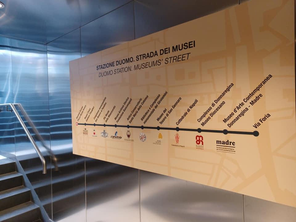 Metro Linea 1 a Napoli: stazione Duomo aperta anche la mattina